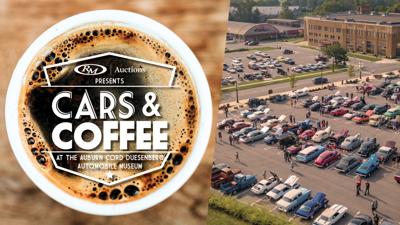 Coffee And Cars >> Cars Coffee At The Plaza Auburn Cord Duesenberg